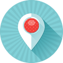 address, coordinates, gps, location, map, marker, pin icon