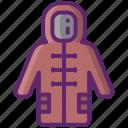duffle, coat, clothes, jacket