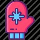 mittens, hand, gloves