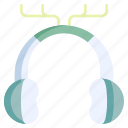 winter, sport, earmuffs, earmuff, protection, holiday, headphones icon