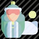 winter, sport, hiking, adventure, travel, backpack, tourist