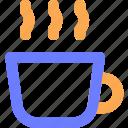 blue, coffe, cold, season, snow, warm, winter icon