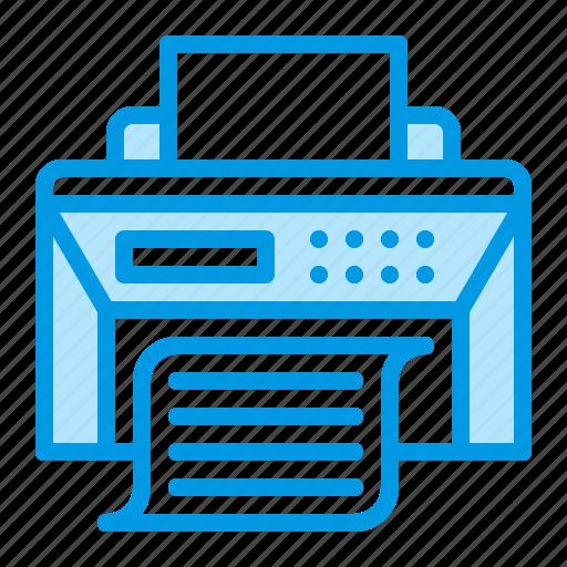 device, office, print, printer, printing icon