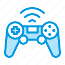 control, game, gaming, wifi icon