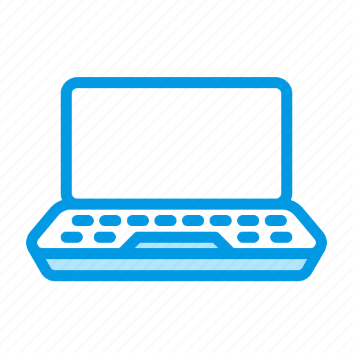 computer, device, laptop, notebook, technology icon