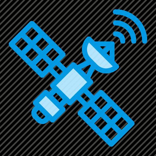 communication, gps, satellite, wifi icon