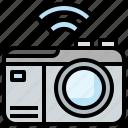 camera, electronics, mirrorless, technology