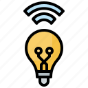 bulb, light, smart, technology, wifi
