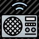electronics, music, radio, sound, wireless