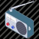 audio device, radio, radionics, radiotelegraph, wireless transmission icon