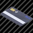 bank card, cash card, credit card, debit card, smart card icon