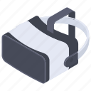 augmented reality, oculus, rift, vr glasses, vr headset icon