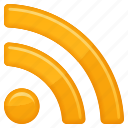 media, rss, rss feed icon