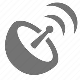 broadcast, communication, dish, satellite, transmission, wifi, wireless icon