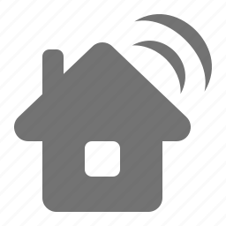 communication, home, house, internet, signal, wifi, wireless icon