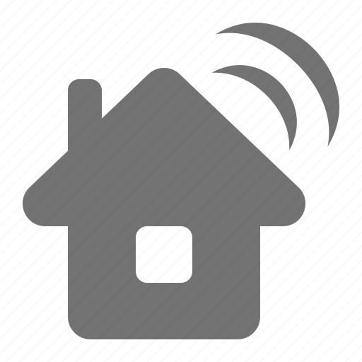 communication, home, house, internet, signal, wifi, wireless icon