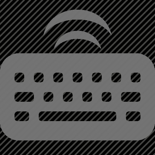 device, input, key, keyboard, typing, wifi, wireless icon