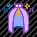 cape, cloak, equipment, hat, magic, wand, wizard icon