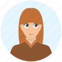 avatar, cute, emotion, expression, girl, offended, woman
