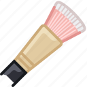 beauty, brush, graphic, makeup, painting, woman, yumminky icon