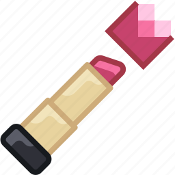 beautification, beauty, lips, lipstick, rouge, woman, yumminky icon