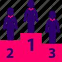 business, podium, winner, woman, women