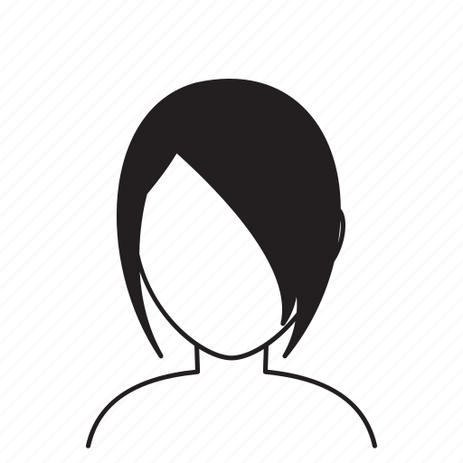 avatar, hair, hairstyle, style, woman, women icon