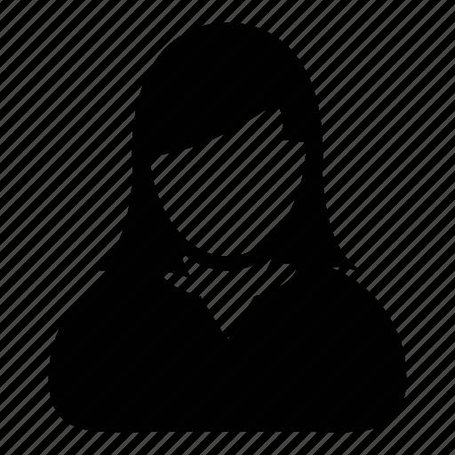 admin, avatar, female, human, person, user, woman icon