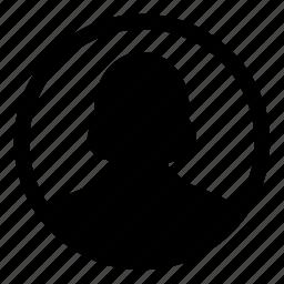 admin, avatar, female, leader, person, user, woman icon
