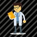 chemist, medic, doctor, man, scientist icon