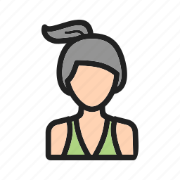 exercise, fitness, gym, lady, running, woman, young icon