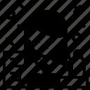 avatar, job, profile, public, speaker icon