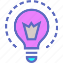 brainstorm, brainstorming, bulb, creativity, feminism, ideas, insight icon