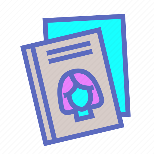 Library, author, book, feminism, read, study, woman icon - Download on Iconfinder