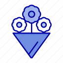 flower, gift icon