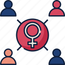 networking, network, connection, communication, female, feminism, women