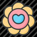 flower, garden, plant, bloom, nature, plants, heart