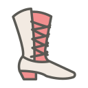 boots, cowboy, cowboy boot, fashion, footwear, leather, spur icon