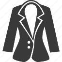 blazer, clothes, clothing, coat, jacket icon