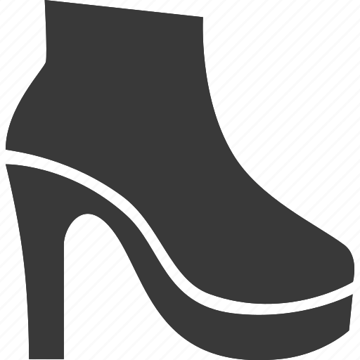 clothes, clothing, footwear, heel, shoe icon