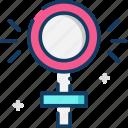 female, gender, symbol, venus, woman icon