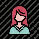 avatar, girl, profile, woman