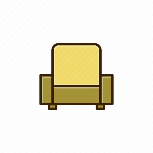 decor, furniture, home, sofa icon