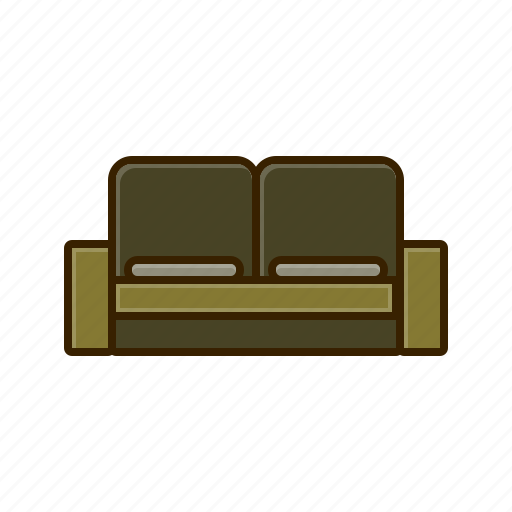 decor, furniture, home, set, sofa icon