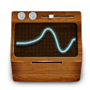 monitoring, wooden icon