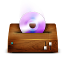 cd, dvd, itunes, wooden