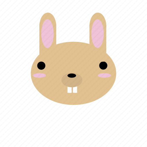 animal, creature, cute, forest, rabbit, woodland icon