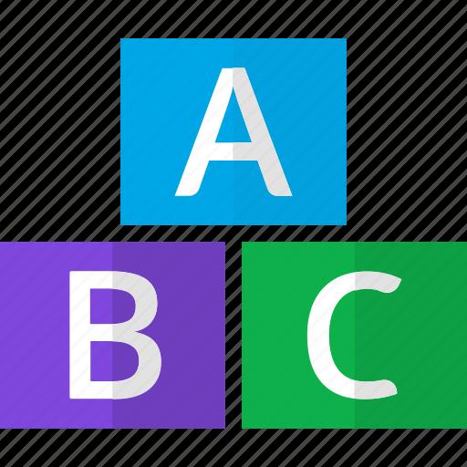 abc, alphabet, aplphbets, capital, letters icon