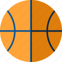 basketball, entertainment, fun, hobbies, recreations icon