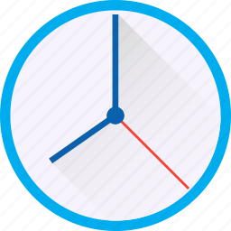 clock, clock hand, material, round, time, watch icon